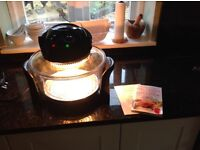 Andrew James freestanding halogen oven model number AJ-606GD
