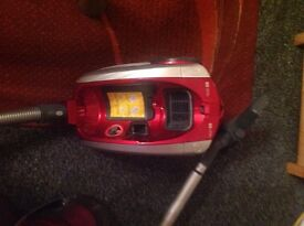A Hoover curve vacuum cleaner