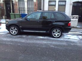 BMW X 520 black colour 2003 model