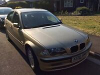 REDUCED! Beautiful BMW, Rare Gold, In Good Condition And Mot January 2019