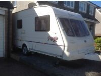 £4000 2003/2004 Pagent Imperial 2 Berth caravan with end toilet and shower room plus extras.