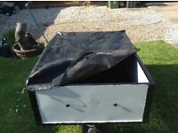 CAMPING TRAILER WITH COVER. BARGAIN £100