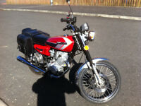 2003 reg Warrior despatch 125 ,years mot and only 3850 miles from new