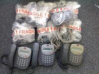 11 x office desktop phones - bargain £70 (redundant stock)