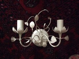Set of three wall lights