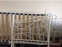 Single bed split to double