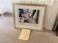 Ellen MacArthur framed print