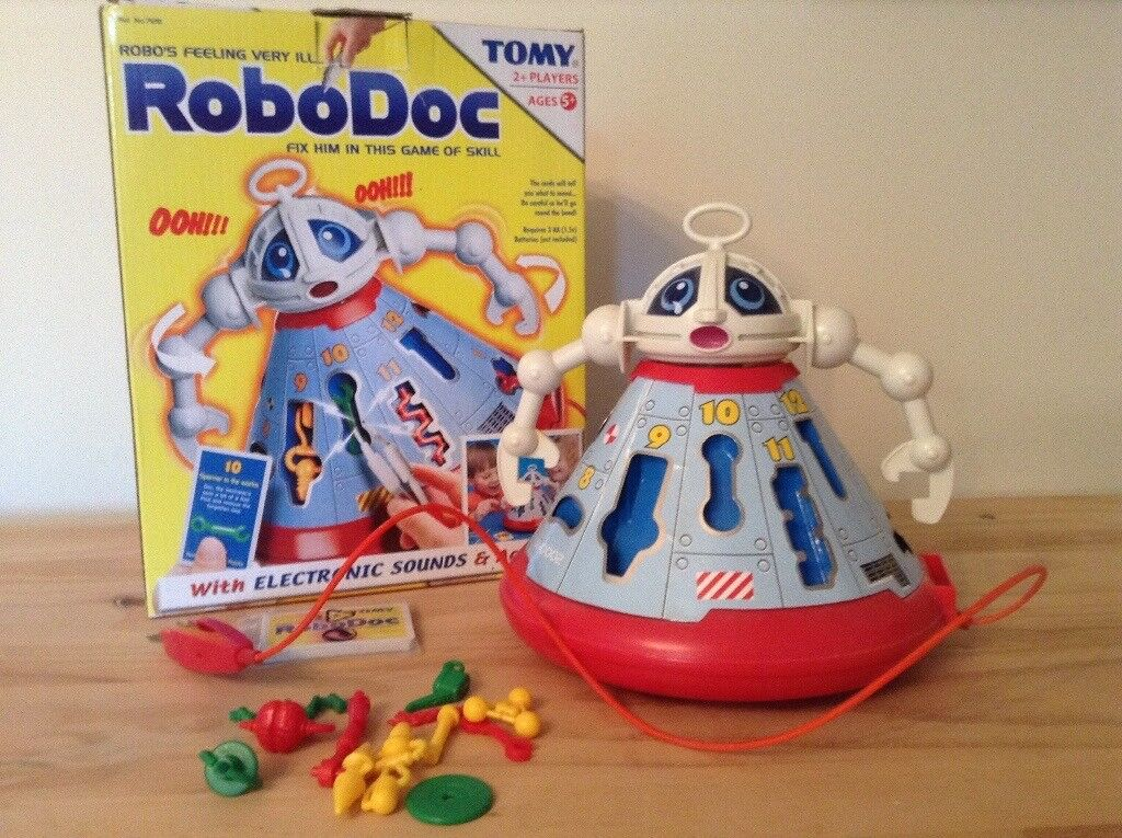 RoboDoc game by Tomy - very good condition