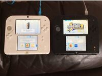 Nintendo 2ds x2 £100 for both