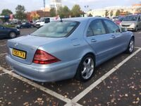 For sale Mercedes S320 CDI Diesel £1995 ono