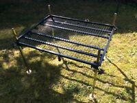 Fishing Platform and Full Trolley System Large