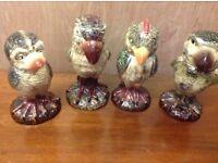 Grotesque birds