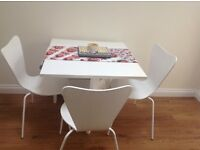 "White Extendable Table and Chairs from ""Next"""