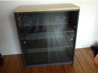 Office cabinet/bookcase with glass doors
