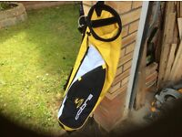 Golf bag - Cobra yellow and black golf carry bag.