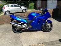 Honda CBR1100 Blackbird. Excellent, original condition, fuel injected model