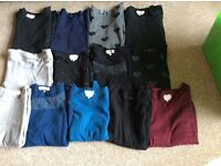 13 boat neck 3/4 sleeve jumpers from next size 18