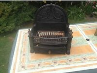 Fireplace grate set