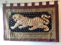 Asian Tiger Tapestry