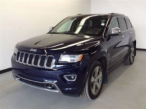 2014 Jeep Grand Cherokee Overland Diesel! Back up cam, Nav, Star