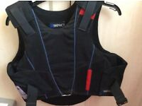 Child riding body protector