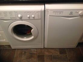 Indesit washing machine and dishwasher