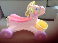 Fisher-Price Brilliant Basics Musical Pony