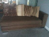 Two sofas and footstool free for uplift only