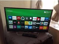 "SONY 32"" Smart ULTRA Slim HD TV,built in Wifi,Freeview HD,NETFLIX,excellent condition"