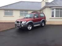 2001 Toyota Landcruiser GX D4D SWB , motd 1 year, same owner as 9 years excellent condition