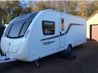 Swift Challenger Sport 584 2015 .Motor mover.Cris reg. Fixed bed. 4berth. Immaculate condition