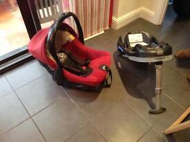 Jane car seat and isofix base