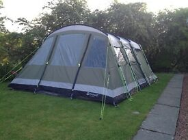 OUTWELL MONTANA 6 TENT, EXTENSION, FOOTPRINT and CARPET