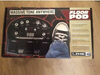 Line 6 Guitar Floor Pod Multi Effects Pedal