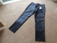 Ladies brand new leather jeans