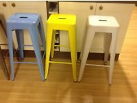 Heavy duty bar stools new excellent condition ideal home/shop/bars