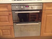Under Counter Indesit Double Oven.
