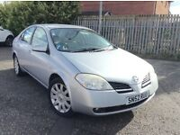 2002 Nissan Primera 1.8 SVE mot until Sep superb driving saloon
