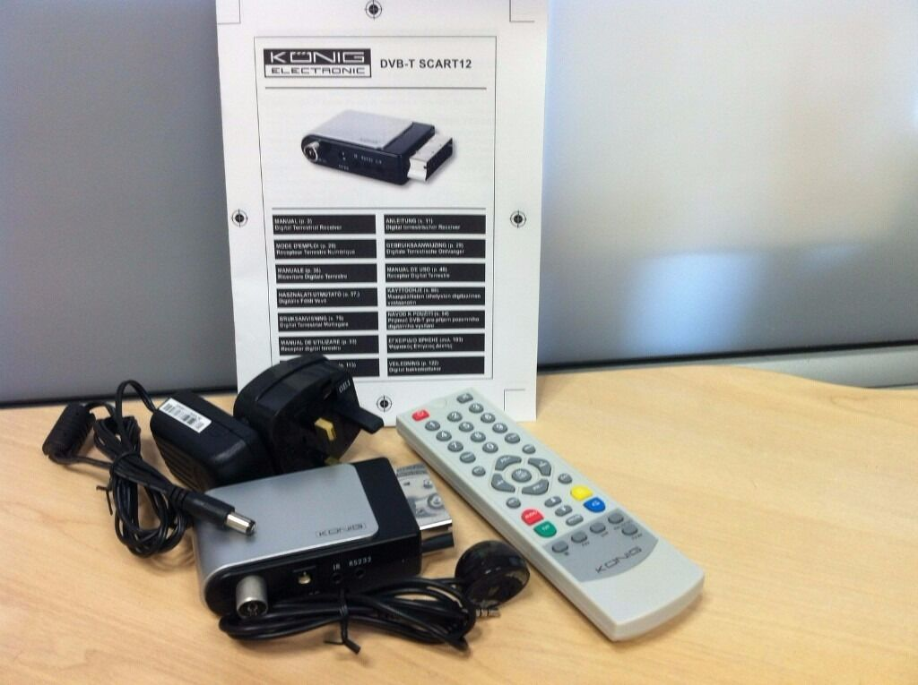 Konig FTA DVB-T Scart Receiver
