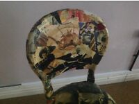 French style/vintage/decoupage chair