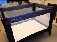 Kiddicare - Travel Cot with Mattress