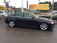 Audi A4 Sline 2.0 tdi diesel 143 bhp 2 owners long mot full history in mint condition may px
