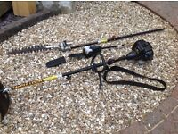 MCCULLOCH PETROL STRIMMER WITH ACCESSORIES-GARAGE CLEAROUT