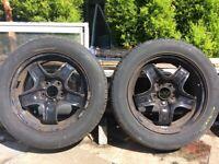 "16"" Vauxhall wheels -Tyres X 2"