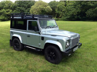 Stunning Landrover Defender XS 90 unique car full dealer history and remainder manufactures warranty