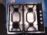 New AEG 4 burner gas hob. Unused item purchased by my late father