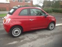 Fiat 500C 1.2 Pop 2010 10 reg Convertable.