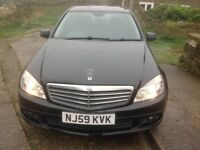 C220 cdi automatic in black only 93500 miles two keys service pack v5 all present priced to sell