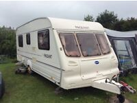 Bailey Pageant tourer / touring caravan, 2001 Fixed bed