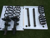 Vw t5 front struts and springs rear shocks and spring from 2015 model